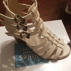 Call it spring wedge sandals